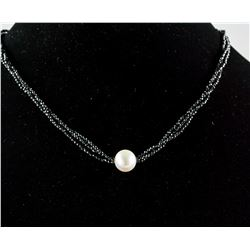 20ct Spinel & Pearl Necklace CRV $1010