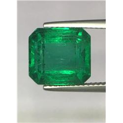 Natural Forest Green Emerald 6.66 Carats