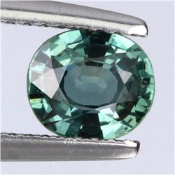 Natural Greenish Blue Sapphire 1.05 ct - Untreated