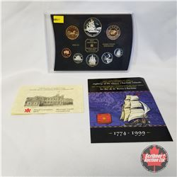 "RCM 1999 Proof Set of Canadian Coinage ""225th Anniversary of the Voyage of Juan Perez and the Sighti"