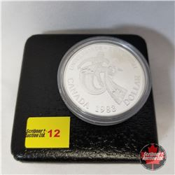 Canada Silver Dollar - Proof : 1983 Universiade Edmonton