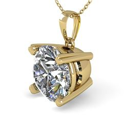 1.50 CTW VS/SI Diamond Designer Necklace 14K Yellow Gold - REF-513H3A - 38423