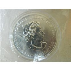 SILVER ROUND - 3/4 TROY OUNCE .999 FINE SILVER - CANADA COIN - USA SPECIAL FORCES COMMERORATIVE COIN