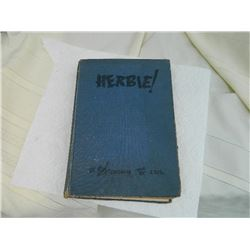 BOOK - HERBIE! - SECOND IMPRESSION - DEDICATED TO CANADIAM FIGHTING MEN - WWII