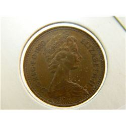COIN - 1 NEW PENNY - 1980