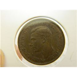 COIN - FARTHING - 1938