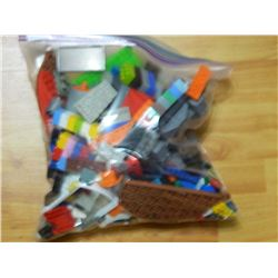 LEGO - LARGE ZIPLOC BAG OF LEGO - toybox full of lego divided into 8 bags - each may contain but not