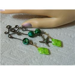 PENDANT - GEMSTONE BEADS & STAR FISH