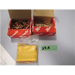 lot of 30 caliber bullets