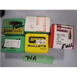 lot of 22 caliber bullets