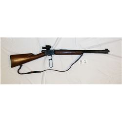 Marlin Model: Golden 39-A Mountie Caliber: 22 SL & LR Serial No. R8404 Description: with Boone scope