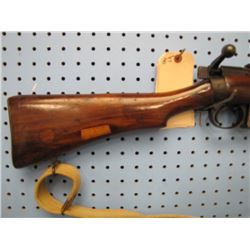 BJ.. Lee Enfield 1916 bolt action 303 clip sling marked with Canadian broad Arrow 1940