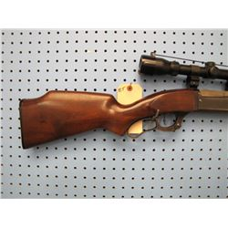 BT... Savage Model 99 lever action 250 - 3000 Bushnell scope 3 x 9 not original stock has cheek rest