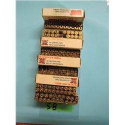 lot of 14 rounds live 257 Roberts and brass reloads