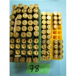 lot of 61 reloads 250 Savage and brass