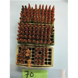 lot of 110 rounds 222 reloads