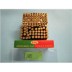 lot of 120 brass 22 Hornet some primed