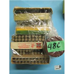 lot of approximately 60 rounds 270 Winchester reloads and brass