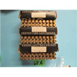 lot of 30 ought 6 Springfield 20 handloads 40 brass