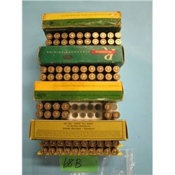lot of 30 ought 6 Springfield 8 handloads approximately 60 brass
