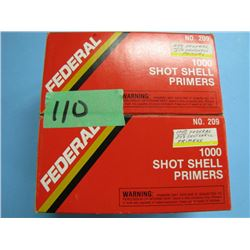 approximately 1600 shotshell primers number 209