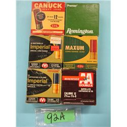 lot of 6 collector boxes 12 gauge  Factory