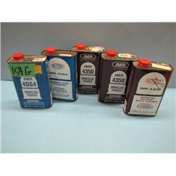 no shipping. Lot of five cans powder