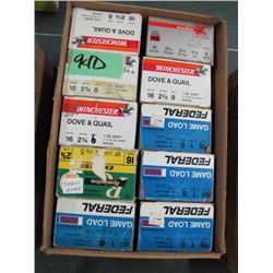 lot of 10 boxes 16 gauge hand loads