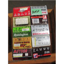 lot of 10 boxes 12 gauge hand loads