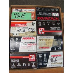 lot of 8 boxes 12 gauge hand loads
