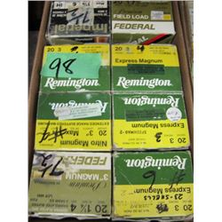 lot of 8 boxes 20 gauge hand loads