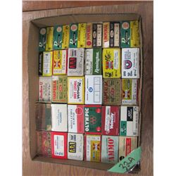 lot of collector  shotgun shell boxes