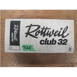 collector box Rottweil club 32 with hulls