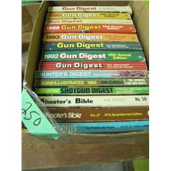 box of gun digest magazines