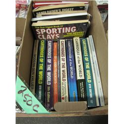 box of cartridges of the World Books Etc