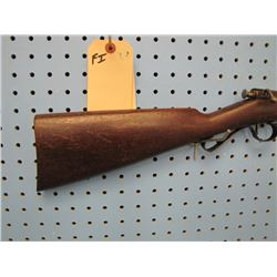 FI... Savage Arms Model 1904 bolt action 22 caliber single-shot tape residue on stock chip out of fo