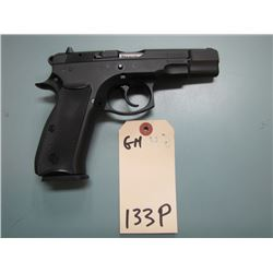 RESTRICTED GH... CZ model 75 B semi automatic 9 mm Luger double action
