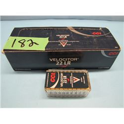 lot of 500 rounds velociter 22 long rifle ammo