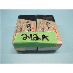 lot of 24 rounds 22 Win mag ammo