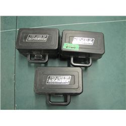 lot of 3 case guard shell carriers