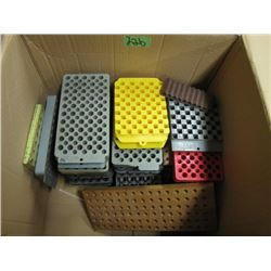box with shell block holders