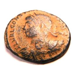Bronze Coin of Constantine II (337-340 A.D.)