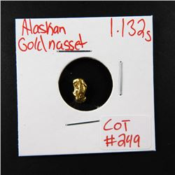 Natural Alaskan Gold Nugget 1.132 grams