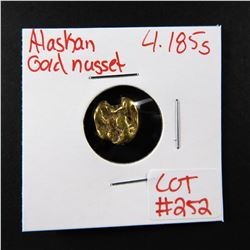 Natural Alaskan Gold Nugget 4.185 grams