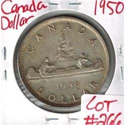 1950 Canadian Silver Dollar