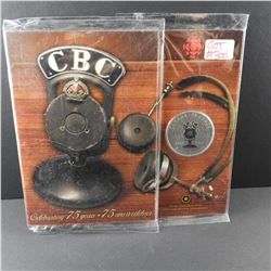 Royal Canadian Mint CBC RADIO Anniversary Coin NEW IN PACKAGE