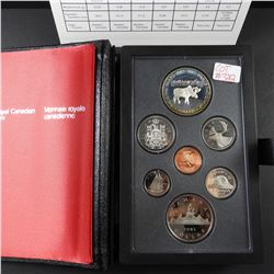 1985 Canadian Double Dollar Silver Coin Proof Set