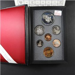 1992 Canadian Double Dollar Sterling Silver Coin Proof Set