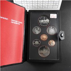 1984 Canadian Double Dollar Silver Coin Proof Set