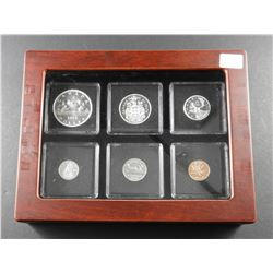 1961 Canadian Silver Coin Proof Like Set in Presentation Case